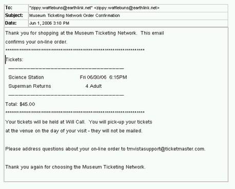 Ticketreceipt